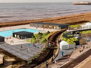 Brighton's new outdoor swimming pool