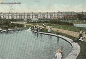 Bexhill Public Bath, Egerton park. Open-Air Lido Swimming History
