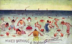 Mixed Bathing at Brighton Swimming History