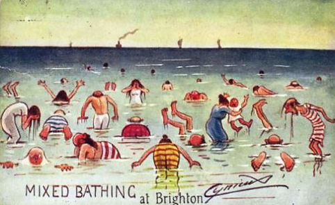 Mixed Bathing at Brighton Swimming History