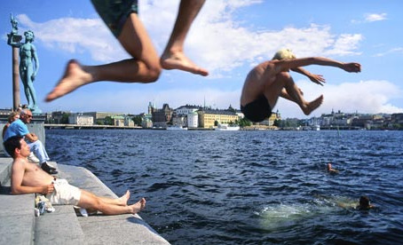 Wild Swimming Picture of the Week: Stockholm