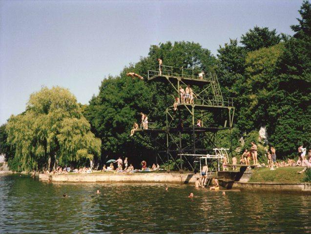 Henleaze Lake Summer 1989