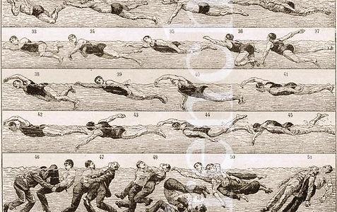 Life Saving Burnley Swimming History
