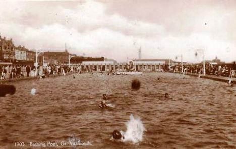The Great Yarmouth Lido Swimming History