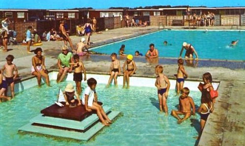 Selsey Outdoor swimming pool for campers