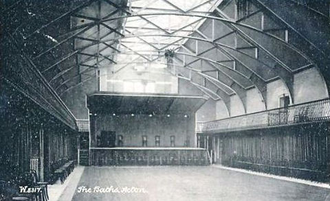 Swimming History Acton The Baths interior 1905