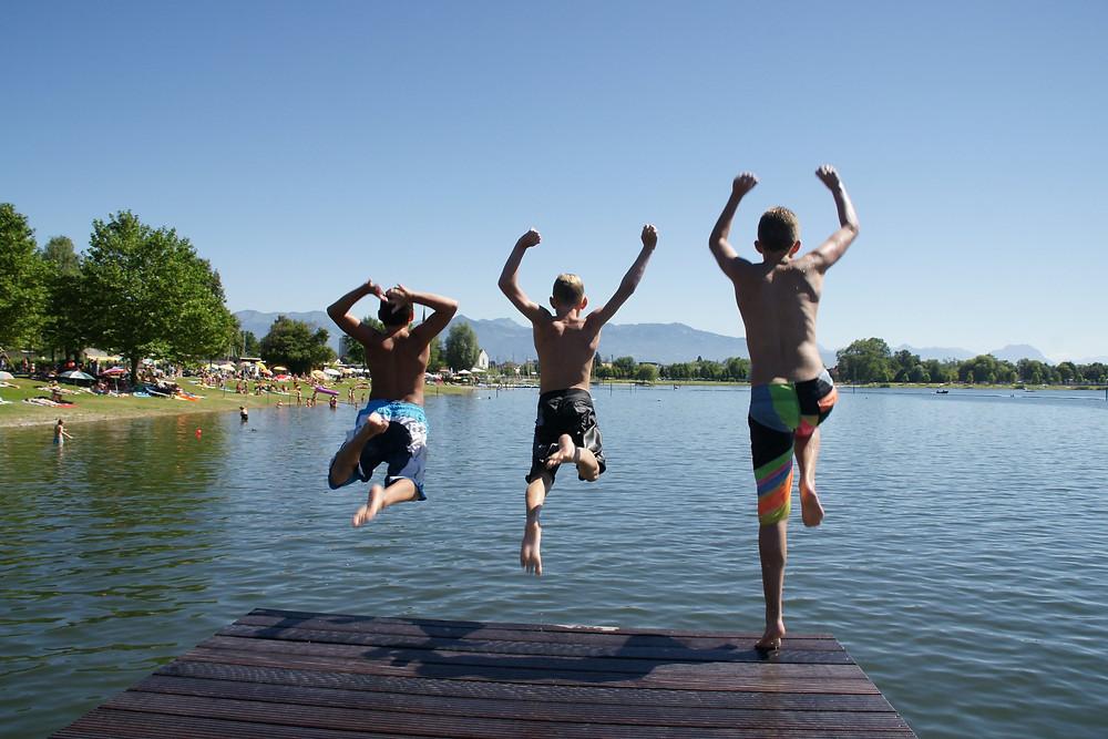 strandbad Hard Austria Wild Swimming