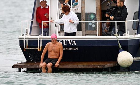 The Oldest Person to Swim the Channel