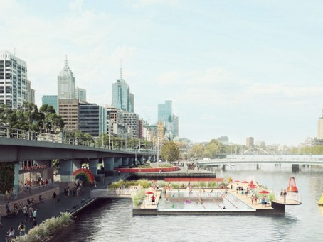 Yarra River pool plan