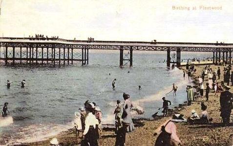 Wild Swimming Sea Bathing Fleetwood Hist