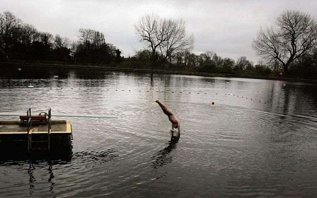 A Swim Around Hampstead Heath