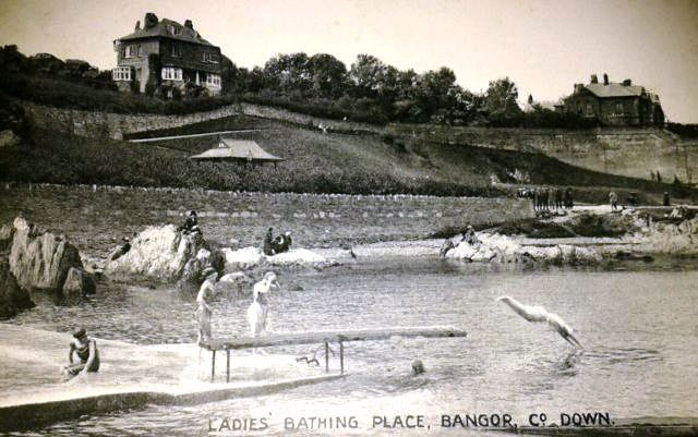 Ladies Bathing Place Bangor County Down