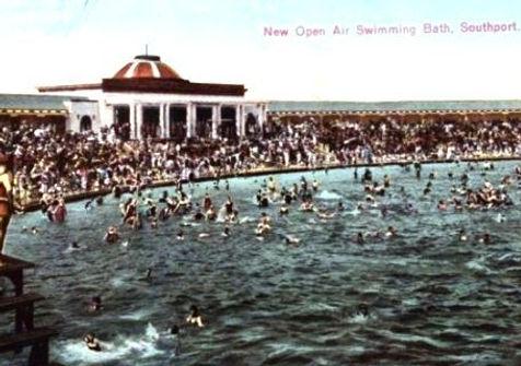 Bathing Lake Southport History