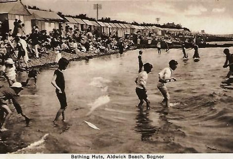 Sea Bathing at Bognor Swimming History