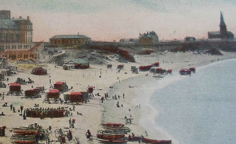 TYNEMOUTH beach Swimming History