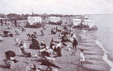 Southsea Beach and Bathing Machines