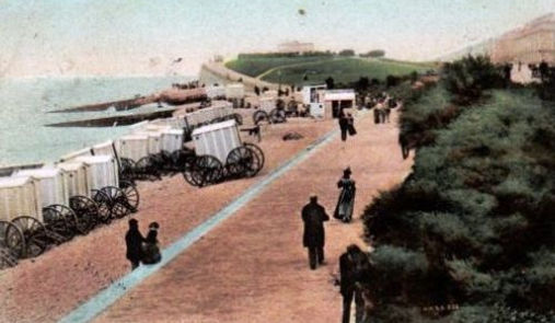 Bathing Machines Eastbourne Swimming History
