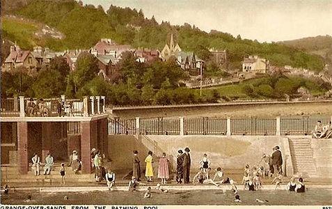 Grange Bathing Place Lancashire Swimming History