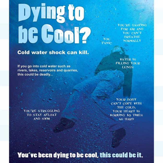 Tragic Death Sparks Anti Swimming Campaign