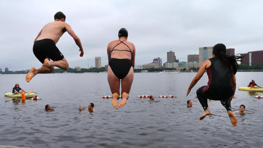 Rivers fit to Swim in! Charles River