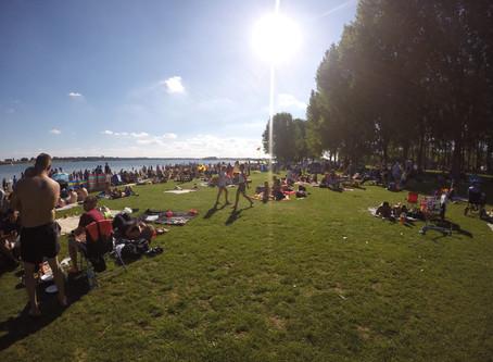 Rutland Water Beach and Aqua Park Closed