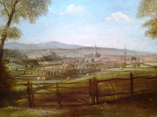 Leicester 1840 Artist Unknown
