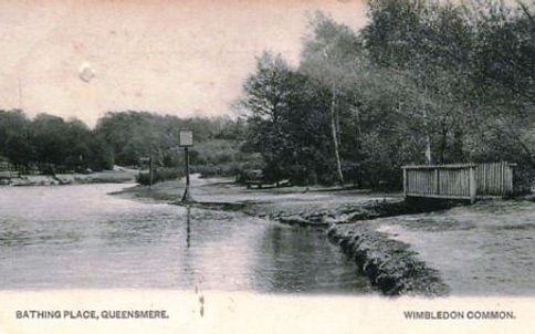 Bathing Place, Queensmere - Wimbledon Common