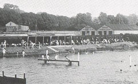 Stoke Bathing Place Ipswich Swimmin History