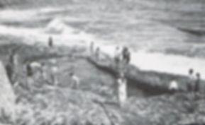 Dancing Ledge Sea Pool at Langton Maltravers near Weymouth 1920 Swimming History