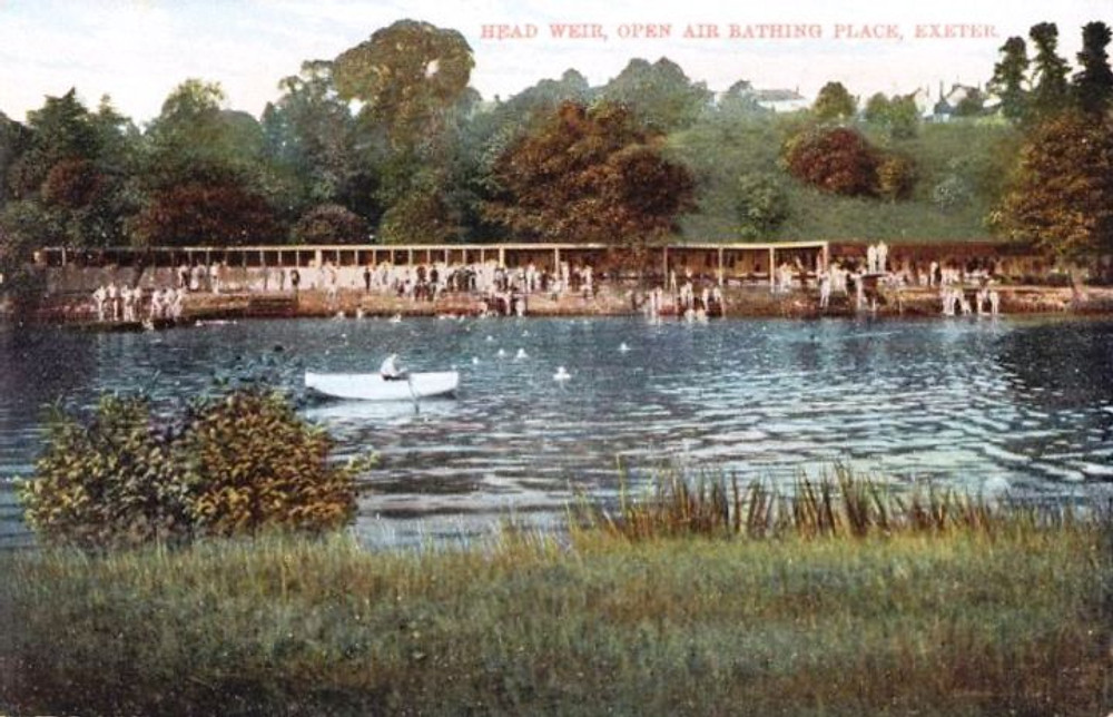 Head Weir, Open Air Bathing Place Exeter Wild Swimming
