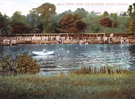 Open Air Bathing – Head Weir – Exeter