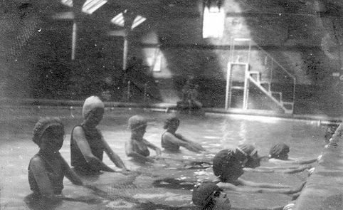 Public Bath Guildford Swimming History