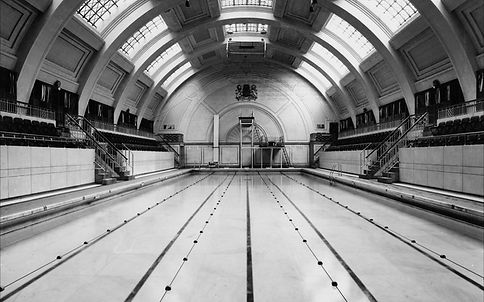 Public Swimming Bath Public Bath, Marshall Street. Westminster . London Swimming History