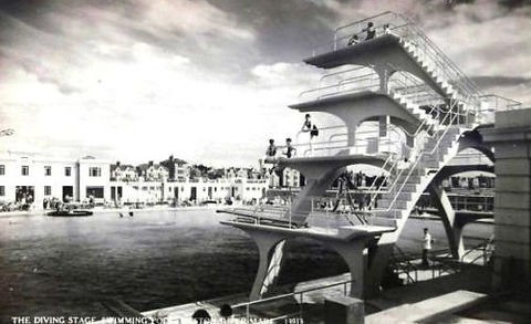 Western-Super-Mare Diving Boards