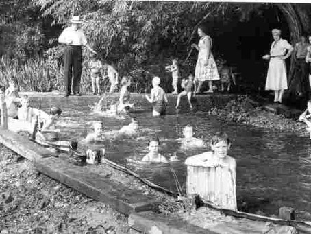Swimming History Picture of the Week: Cygnet River Swimming Baths, Amersham