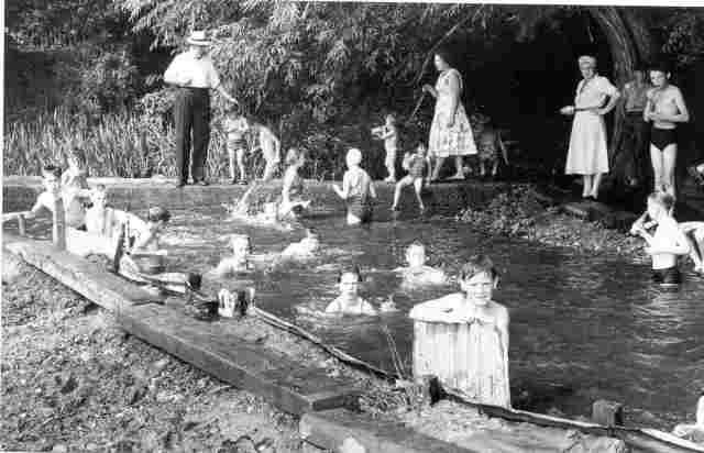 Cygnet River Swimming Baths, Amersham