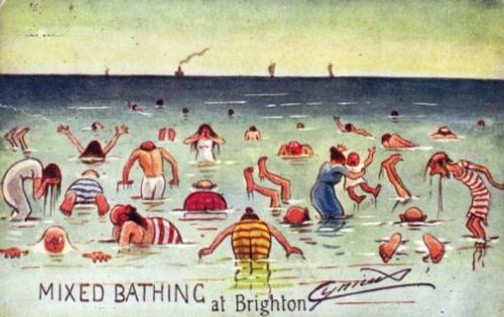 Mixed Bathing at Brighton