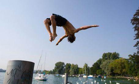 Wild Swimming in Switzerland