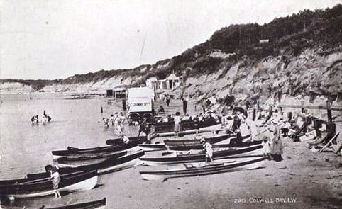 Wild swimmers Sea Bathing Colwell Bay