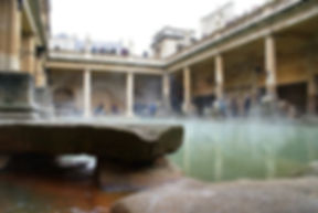 The Roman Swimming Pool at Bath History