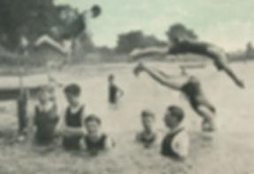 DORCHESTER River Poundbury Bathing Place Swimming History