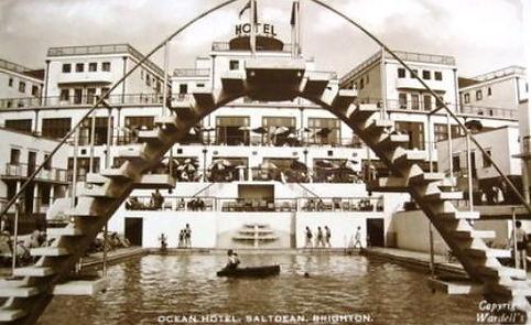 Saltdean Hotel Lido Swimming History