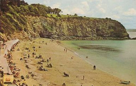 St Austell Beach Wild Swimming History
