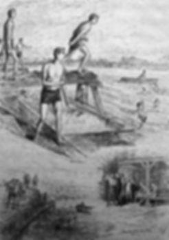 Athens Bathing Place - swimming history Eton and Windsor
