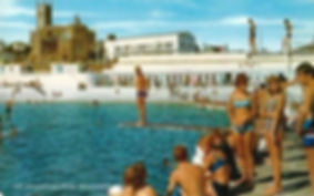 Penzance Lido and Diving Boards Wild Swimming History Cornwall