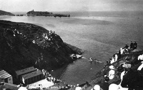 Peel Baths Isle of Man Swimming History
