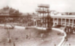 Open Air Lido Blackpool Swimming History