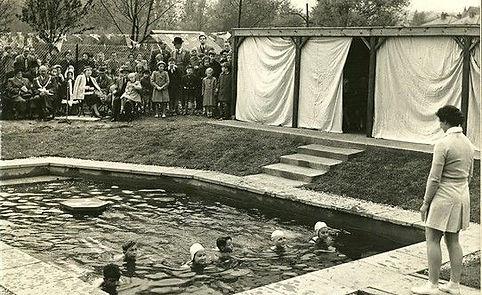 Batford swimming pool Hisory