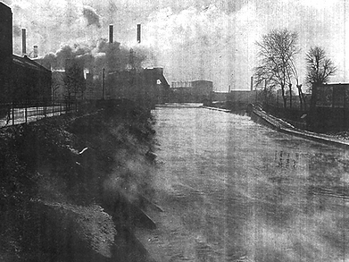 Swimming History Leicester, Steaming Waters of The Mile Straight Leicester