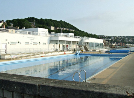 Swimming History Picture of the Week: Gourock Outdoor Swimming Pool